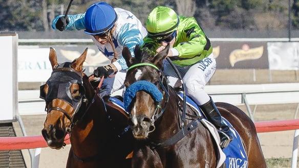 Canberra jockey Patrick Scorse enjoys winning return in ACT