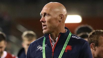 Fitzgibbon knocks back Dragons as club tries to keep De Belin in bubble
