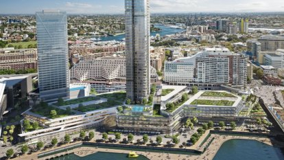 Mirvac told to shrink $708m tower plan for Harbourside Shopping Centre