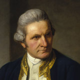 Captain James Cook, portrait by Nathaniel Dance, 1776.