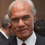 Tonga Prime Minister Akilisi Pohiva