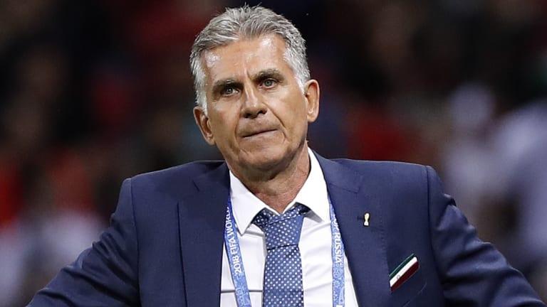 Diplomat: Iran coach Carlos Queiroz.
