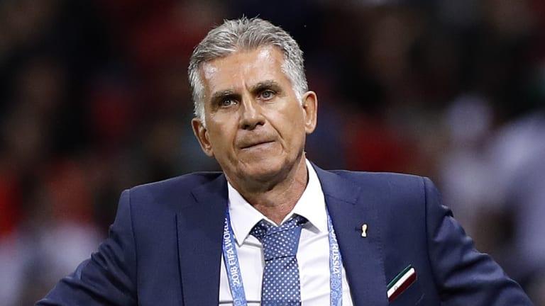Iran coach Carlos Queiroz.