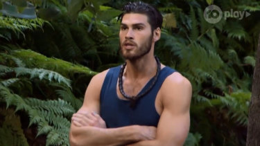 Justin Lacko is the latest I'm a Celebrity evictee.