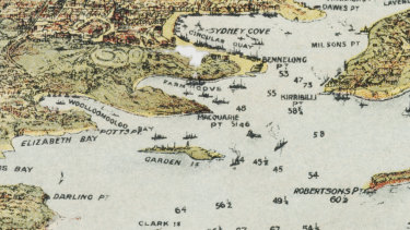 When Garden Island was an Island, published by the Sydney Harbour Trust Commissioners, 1913.