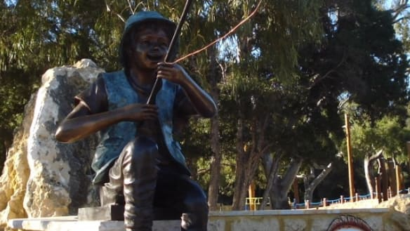 Statue stolen from Perth disability playground