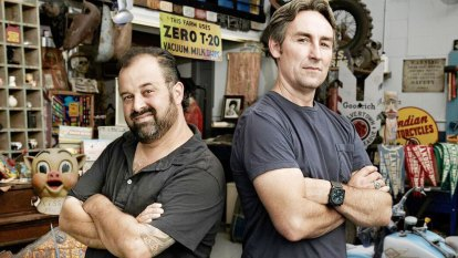 American Pickers: sharing the joy of junk