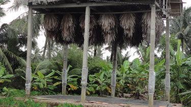 A 'guano farm' in Vietnam