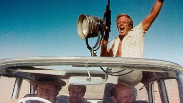 A scene from the 1971 movie Wake In Fright, which starred Donald Pleasance, Jack Thompson and Chips Rafferty.