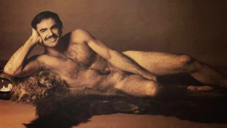 Burt Reynolds' infamous 1972 centrefold in Cosmopolitan magazine.
