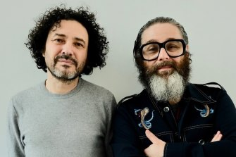 Ghost Stories creators Andy Nyman and Jeremy Dyson