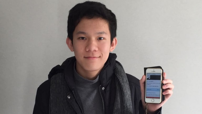 Ethan Tan, 15, has achieved the highest possible ATAR of 99.95.