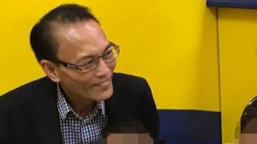 Shot dead: Bankstown lawyer Ho Ledinh.