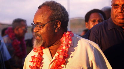 PNG leader navigated country through independence