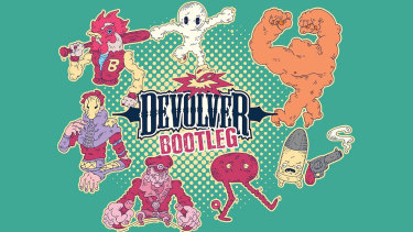 Devolver has ripped itself off for a collection of bootleg games.