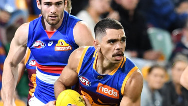Hitting the big time: Charlie Cameron goes from strength-to-strength for the Lions.