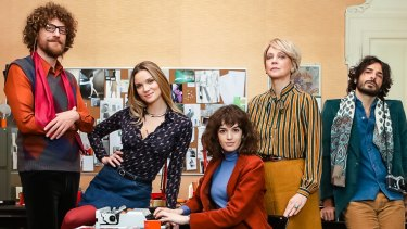 Made In Italy is as much about a woman's place in the workplace as it is about the 1970s fashion revolution.