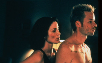 Memento, one of Christopher Nolan's earliest films.