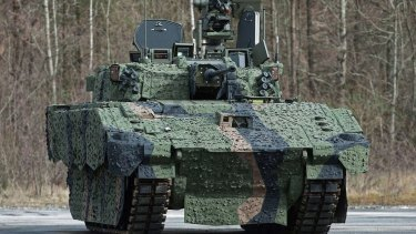 The new Ajax vehicles could pose safety risks to soldiers.