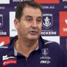 'You're making a number of assumptions': Lyon's veiled threat as rival AFL clubs circle