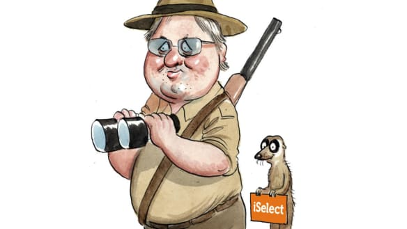 That's no South African meerkat stalking iSelect
