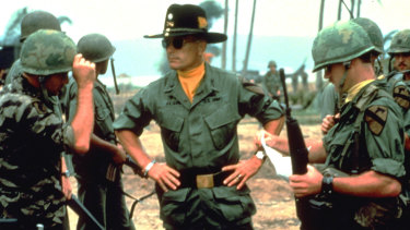 Robert Duvall in Apocalypse Now, one of the best war films ever made