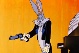 Bugs Bunny in a 1946 Warner Bros production.