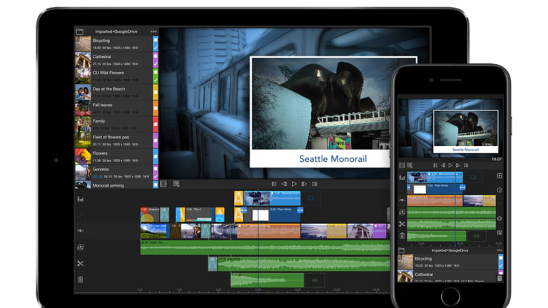 Luma Fusion is the most advanced mobile video editor you can get.
