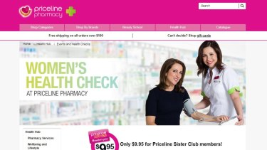 Priceline offers Women's Health Checks for $20.
