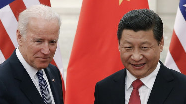 President Xi Jinping's government has moved to undermine Joe Biden's chances of building a western alliance.
