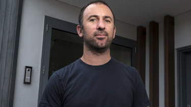 Edward Wilmoth claims he wasn't told about his building's issue with cladding.