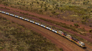 Rio Tinto's Pilbara trains will soon be automated.