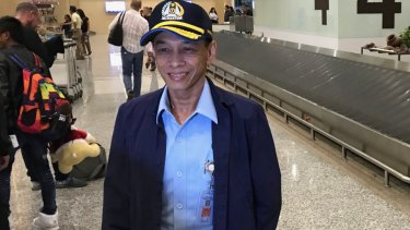 Ngurah Rai Immigration Chief Amran Aris who oversaw the deportation of Renae Lawrence.