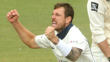 James Pattinson continued his demolition job on day four as Victoria claimed the Sheffield Shield.