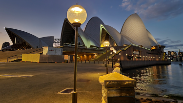 NOW Photographing The Sydney Opera House in Portrait Mode blurs the background and focuses on the grand dame on Sydney Harbour. Captured on a Samsung Galaxy S21 Ultra 5G.