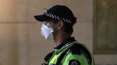 Most people in WA have accepted wearing a mask – but there have still been several arrests.