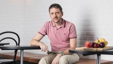 Fabian Siegel, CEO of recipe kit company Marley Spoon.