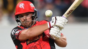 Aaron Finch has been devastating for the Renegades.