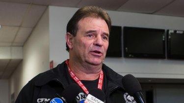 CFMEU boss John Setka at the Victorian Labor state conference last year.