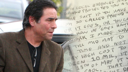 'It's the cost of being guilty': Extortion note demands $50m