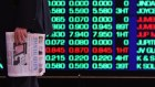 Australian shares rose to a three week high on Friday.