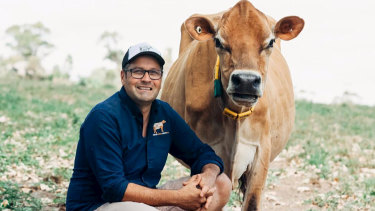 Gippsland Jersey co-owner Steve Ronalds is one dairy farmer cynical of drought levies for milk.