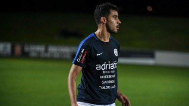 Bahraini refugee Hakeem al-Araibi is being detained in Thailand.