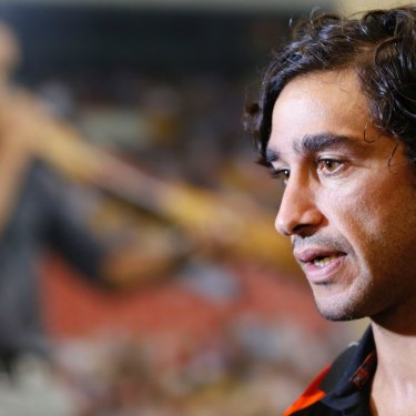 All Stars and all class: Johnathan Thurston promotes the Indigenous All Stars concept.