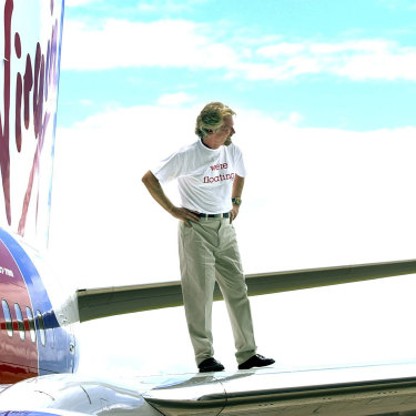 "Qantas was being ""monstered"" by Richard Branson's Virgin Blue (pictured) and had to respond."