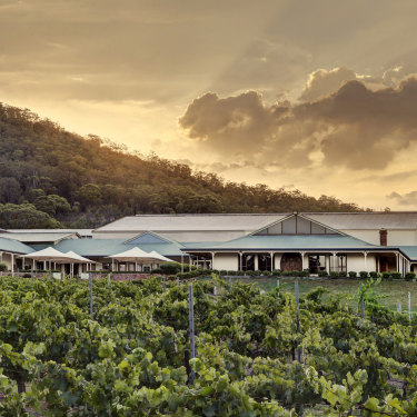 Mount Pleasant has some of the Hunter region's oldest vines.