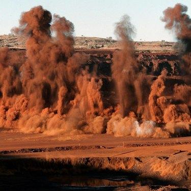 BHP's Yandi Yandi Iron Ore mine.