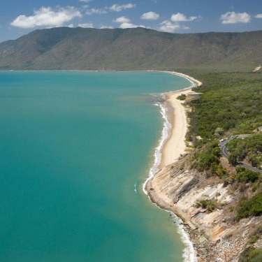 Rex Lookout and Wangetti Beach, on the Captain Cook Highway between Cairns and Port Douglas in far north Queensland.