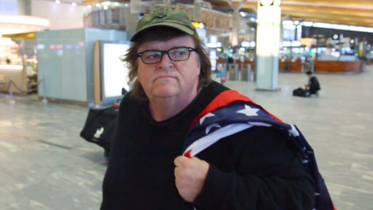 Michael Moore in his documentary Where To Invade Next.