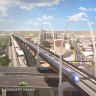 First airport rail images released, as long-delayed project inches closer